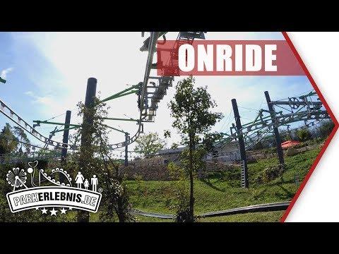 NEU 2018: Hexenbesen Pottenstein (Erlebnisfelsen) - Wiegand Twin Seater - Mitfahr-Video (POV OnRide)