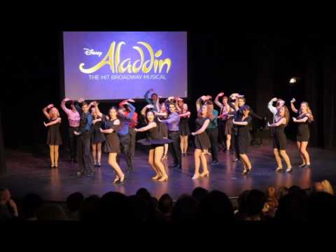 """Arabian Nights"" from Disney's ""Aladdin"" at the 2017 Illinois High School Musical Theatre Awards"