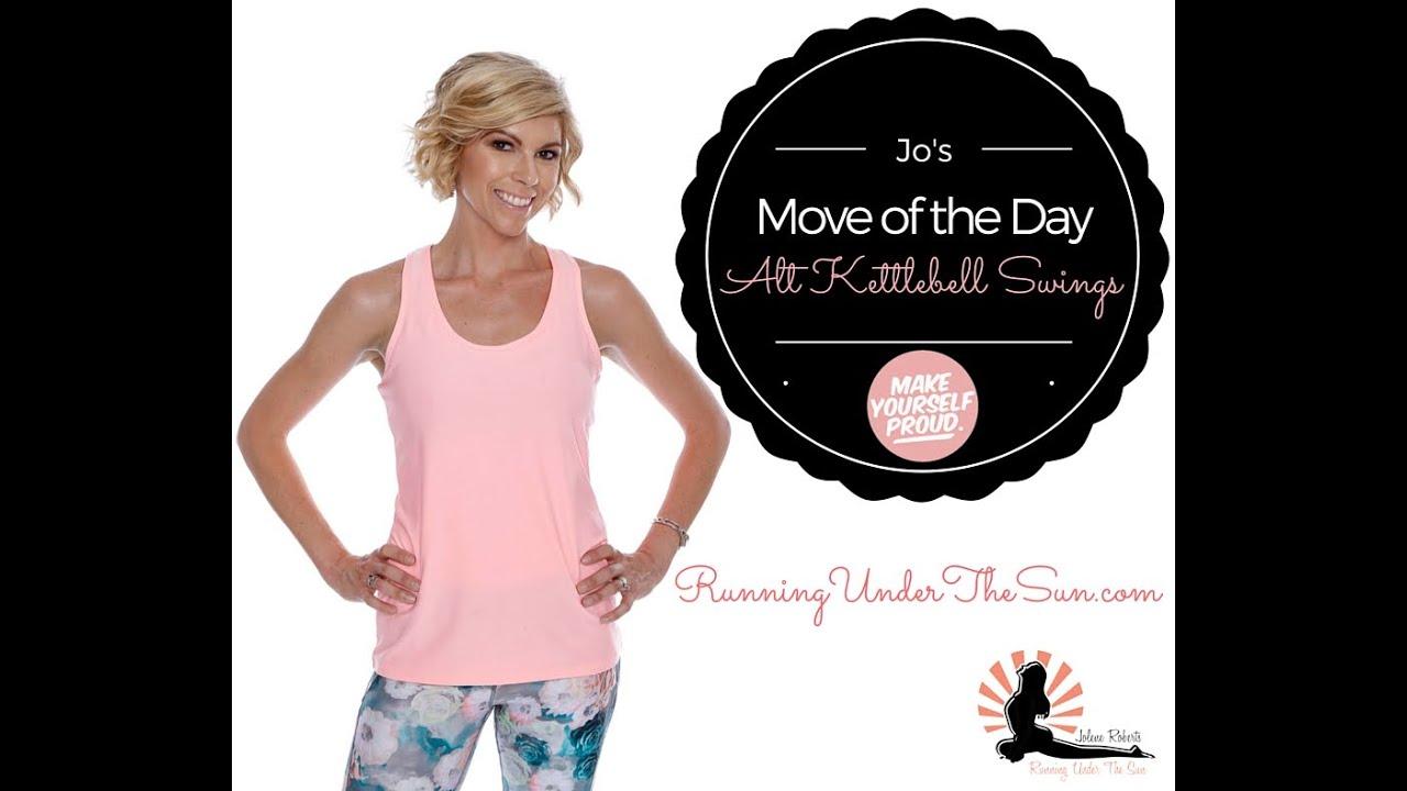 Kettlebell Youtube: Move Of The Day: Alt Kettlebell Swings