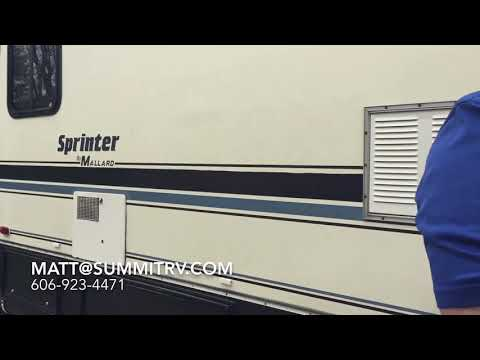 1990 Mallard Sprinter Class A Gas Motorhome at Summit RV in Ashland