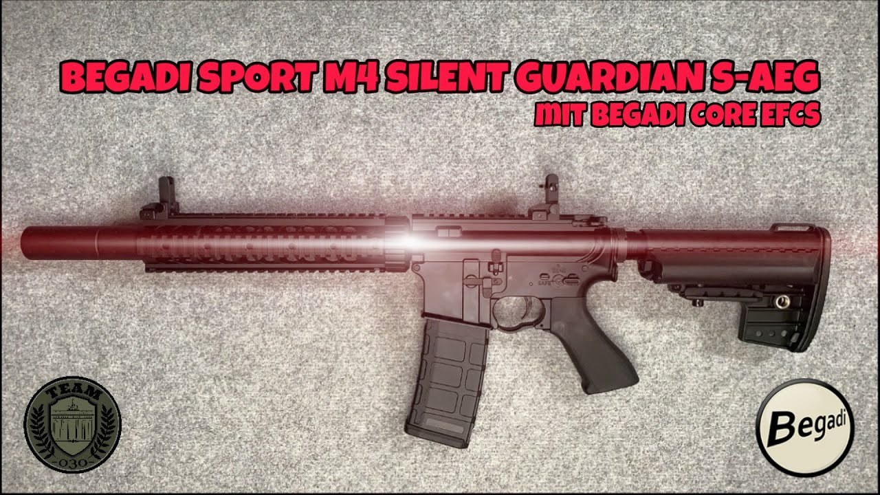 [REVIEW] BEGADI SPORT M4 SILENT GUARDIAN S-AEG