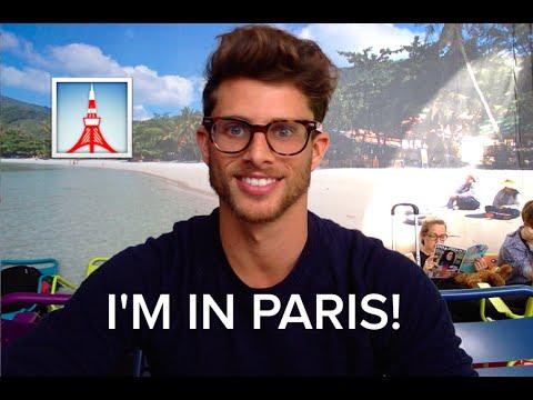 I'M IN PARIS!