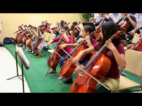 Jim's Cello Group at the Loma Linda Academy
