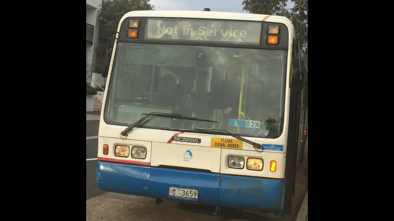 "STA Sydney Buses [Leichhardt] -Scania L113CRB/Ansair ""Orana"",m/o 3659"
