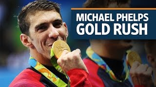 Rio Olympics: Michael Phelps takes his 19th gold medal