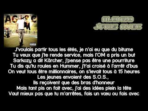Alonzo - Jfais Avec Lyrics