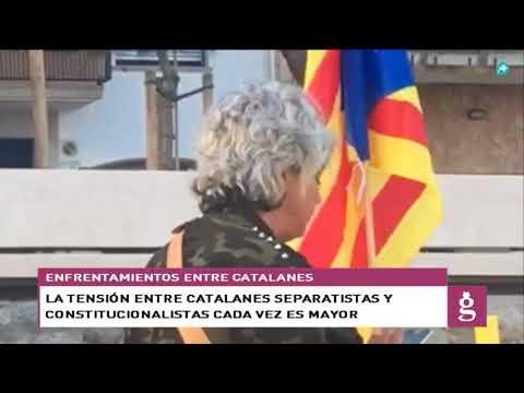 Aumenta la tensión en Cataluña por defender un espacio público libre de simbología separatista