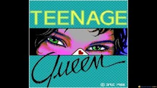 Teenage Queen gameplay (PC Game, 1988)