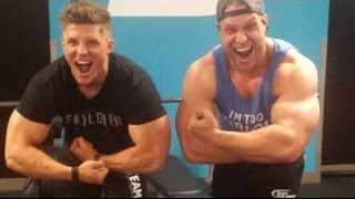 Training Chest and Triceps w/ Steve Cook