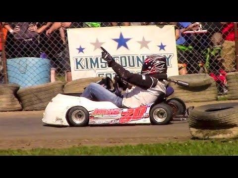 Senior 400 Clone Feature | Eriez Speedway | 9-23-17