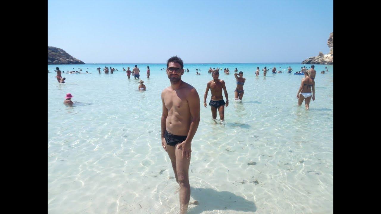 Cartina Delle Spiagge Di Lampedusa.Lampedusa Isola Dei Conigli La Spiaggia Piu Bella Del Mondo Youtube