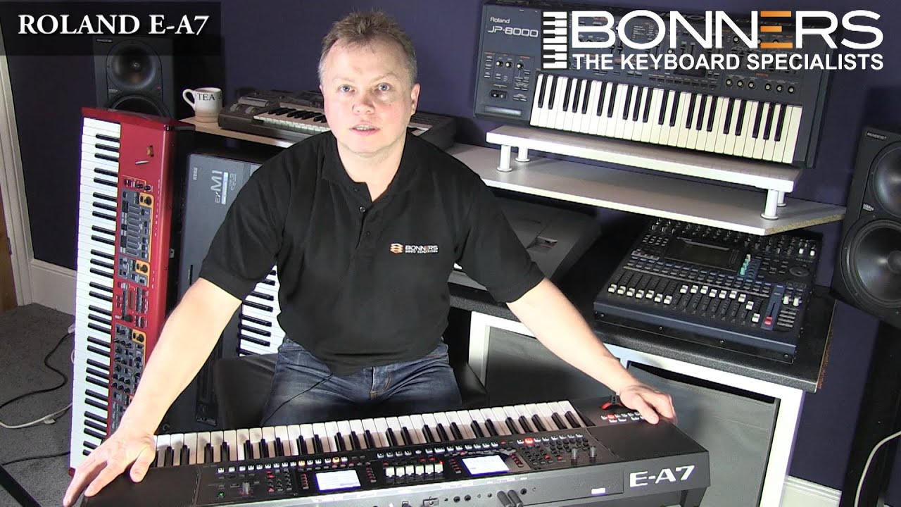 roland ea7 keyboard uk demo part 1 overview sounds youtube