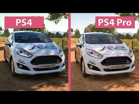 DiRT 4 – PS4 vs. PS4 Pro 4K UHD Graphics Comparison