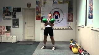 Толчок гирь - техника от Игоря Морозова - RGSI Jerk kettlebells