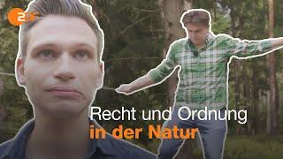 Fabian Köster und Lutz van der Horst als Waldranger