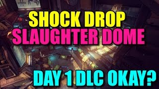 Borderlands: The Pre-Sequel Shock Drop Slaughter Dome Pre-order - Compared to Wildlife