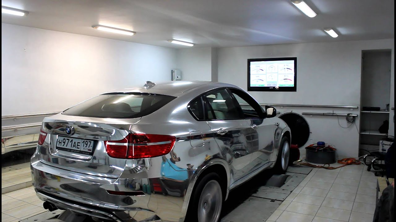 Chrome Bmw X6 M Dyno Test Youtube