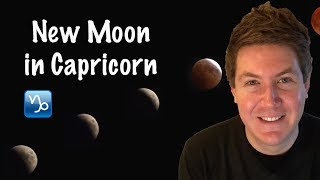 New Moon in Capricorn January 17, 2018 | Gregory Scott Astrology