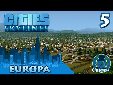 Cities Skylines - Europa - Reubicación Industrial  #5 en español