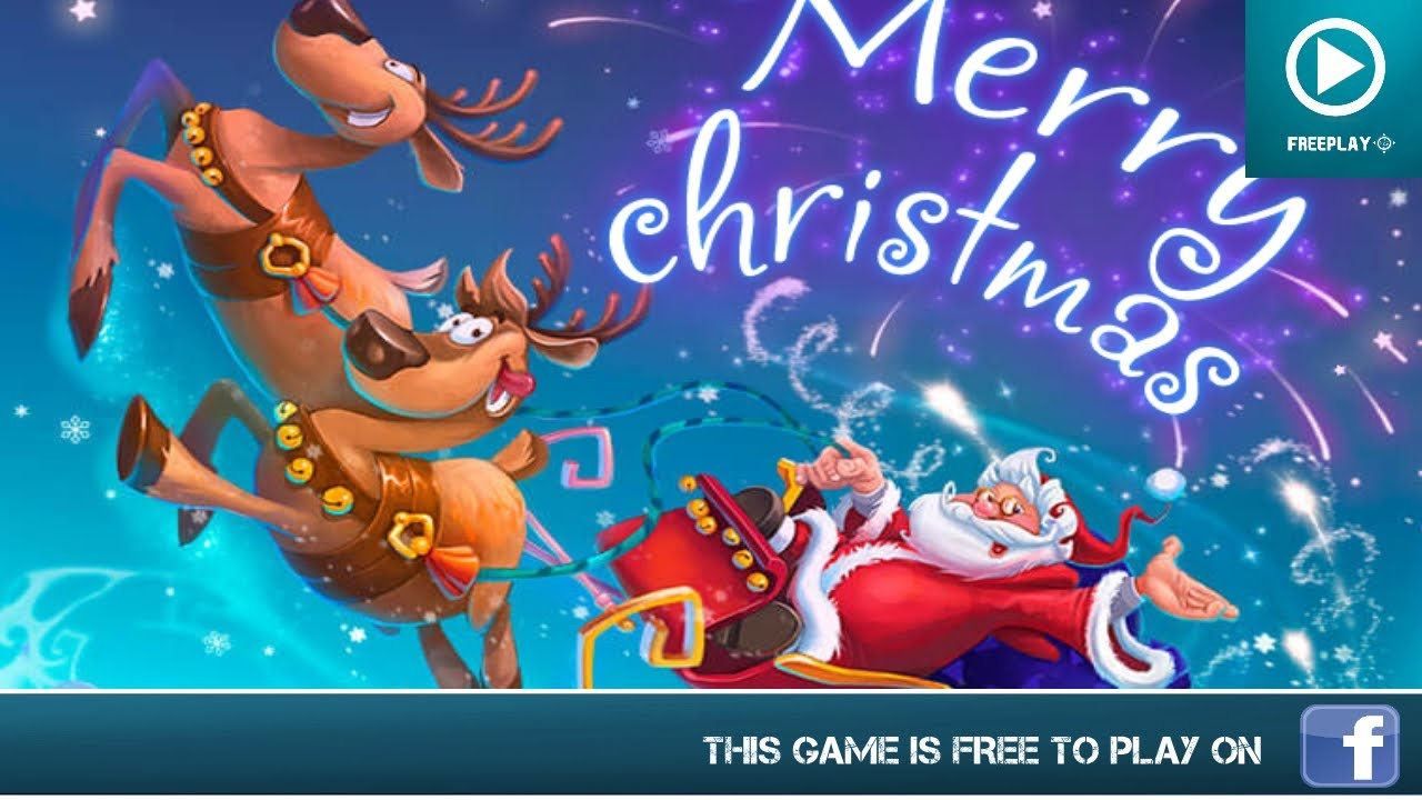 Merry Christmas - Facebook Games - Gameplay - YouTube