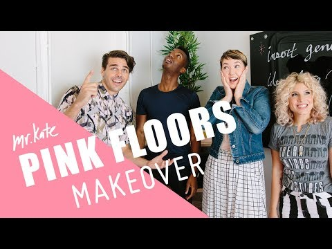 Pink Floors Makeover! | Office Goals on the Road | Mr. Kate thumbnail