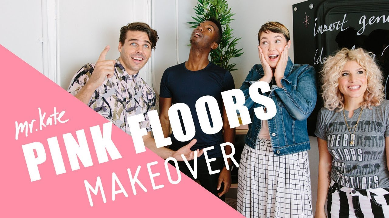 Pink Floors Makeover! | Office Goals on the Road | Mr. Kate