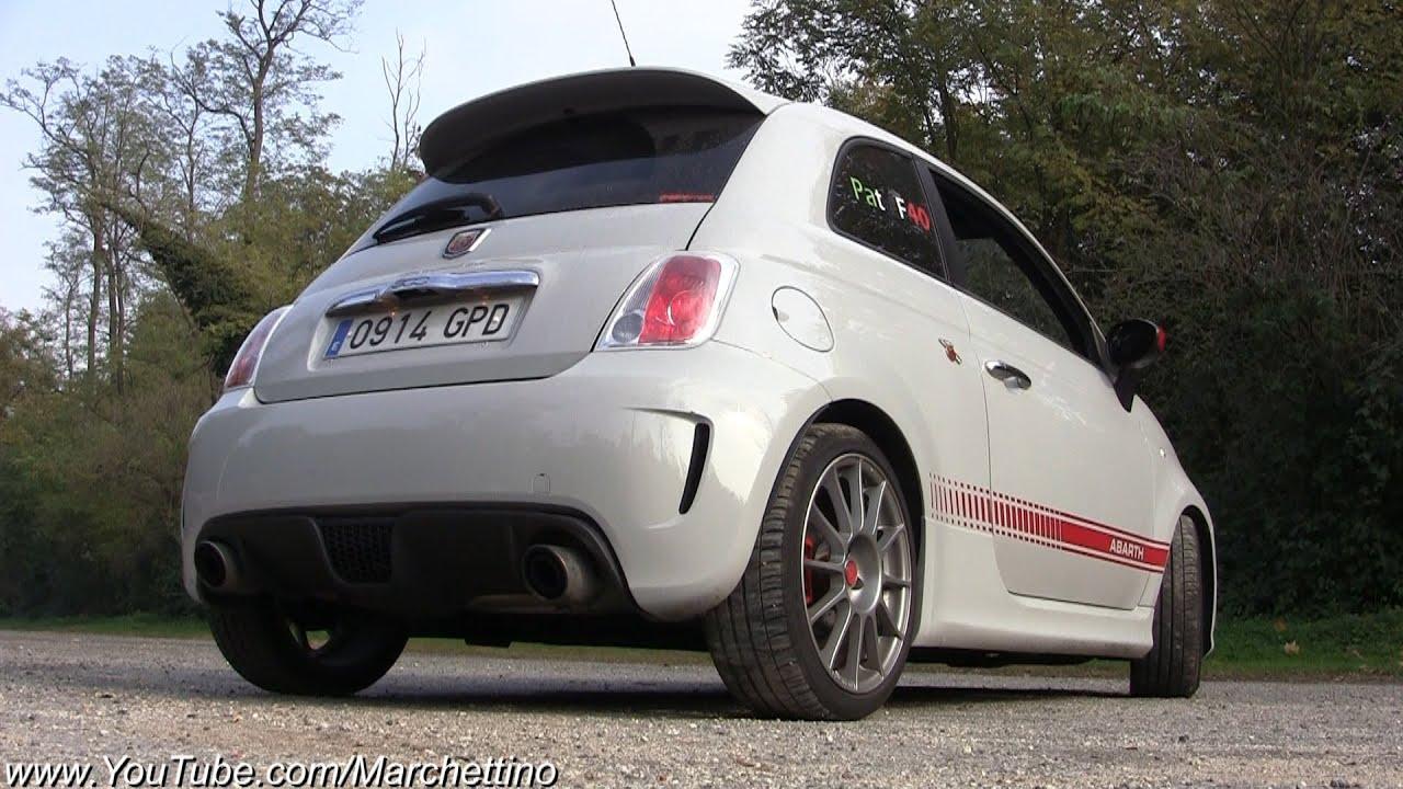 Abarth 500 etto Corse Exhaust LOUD Sound! - YouTube