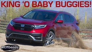 The new King of Baby Buggies: 2020 Honda CR-V Hybrid