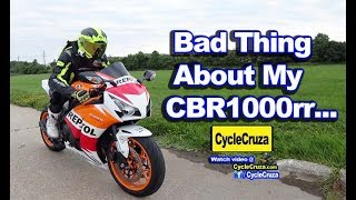 BAD Thing About My CBR1000rr NOW... | MotoVlog