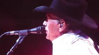 George Strait - Greeting & You Can't Make a Heart Love Somebody/DEC 2017/Las Vegas/T-Mobile Arena