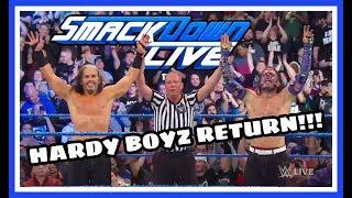 REACTION | HARDY BOYZ RETURN!!! | WWE SD LIVE 2/26/19