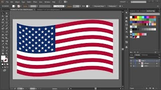 How to Draw the American Flag in Adobe Illustrator