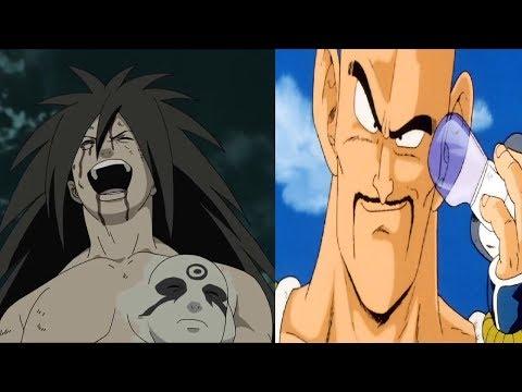 DBZMacky Madara Vs Nappa And Dragon Ball Characters Power Levels (Naruto Vs DBS)