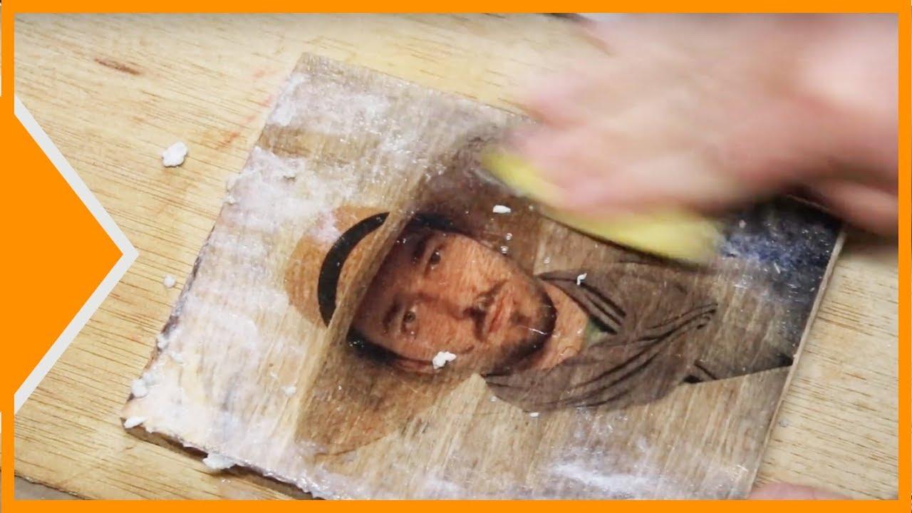 Transfert Photocopie Sur Bois transfert photo sur bois