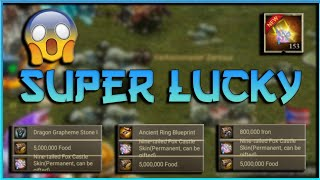 CLASH OF KINGS : 3X Nine -Tailed Fox Castle Skins - SUPER LUCKY!!!