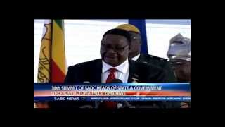 34th Summit of SADC Head of State and Government Part 1