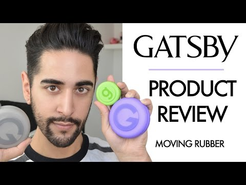Gatsby Moving Rubber - TRIED AND TESTED!  Mens Hair Product Review 2016 ✖ James Welsh