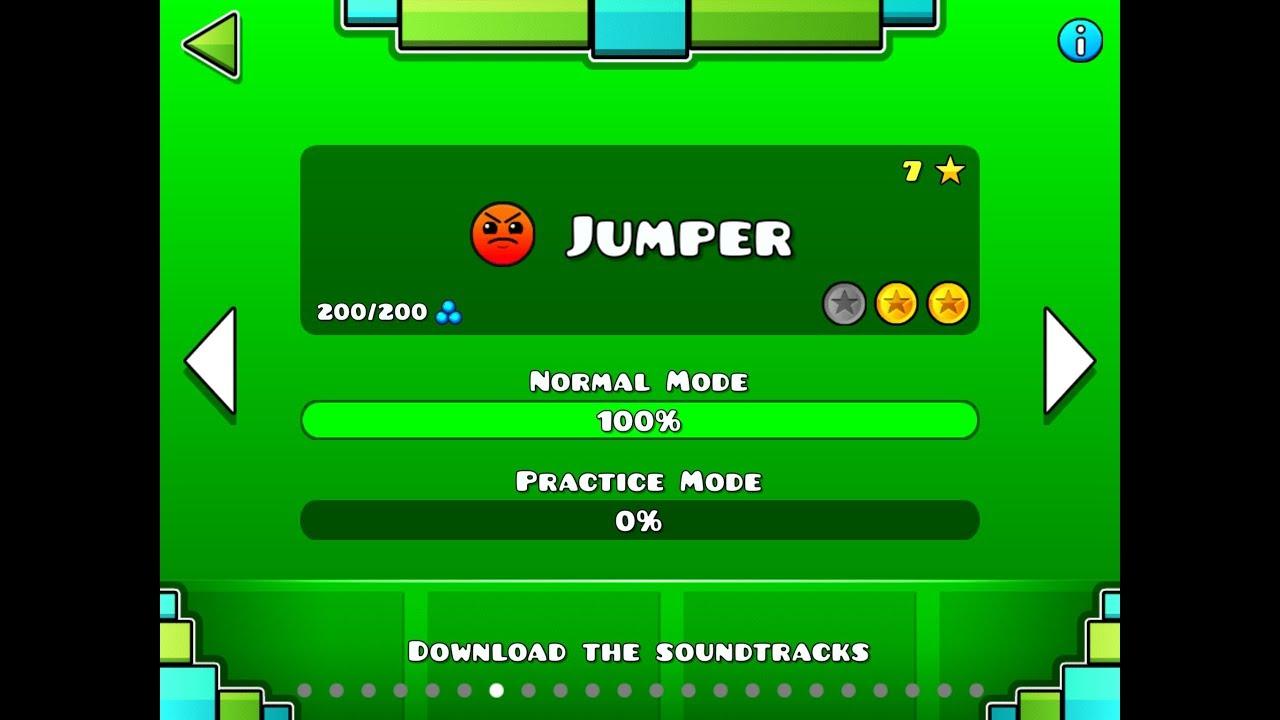 Geometry dash-Jumper-100%-play through