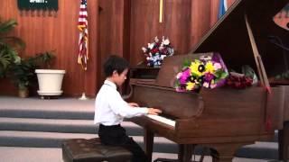Michael Zhou(7yrs) - Triste Coeur
