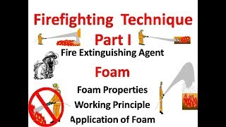 firefighting with foam , Wнat is foam? Foam application, Foam Firefighting,