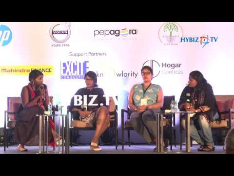 Likhita Bhanu, Terra Greens Organic | The Talk - Big Ideas 2017 Hyderabad | hybiz