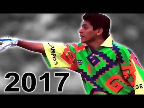 Jorge Campos ● El Mejor Portero de Mexico En La Historia ● Mejores Atajadas ● Goles ● Jugadas ● 2017