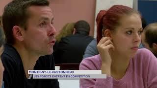 Montigny-le-Bretonneux : les robots entrent en compétition