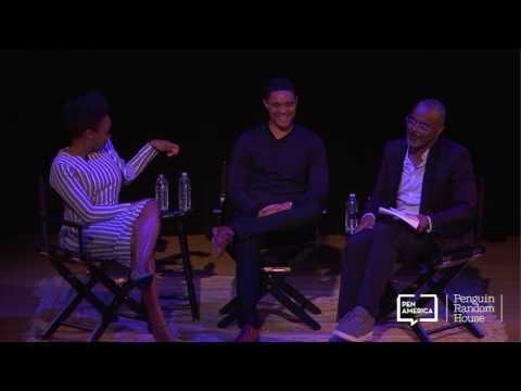 Chimamanda Ngozi Adichie and Trevor Noah—2017 PEN World Voices Festival