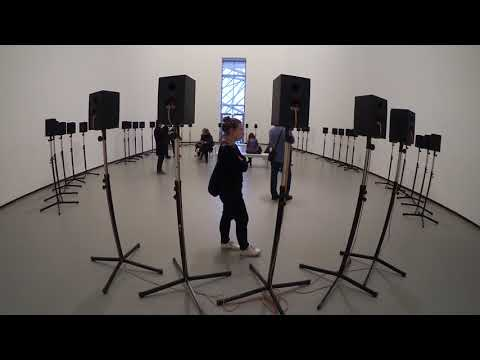 The Forty Part Motet 2001 Janet Cardiff 1957 MoMA New York Fondation Louis Vuitton Paris
