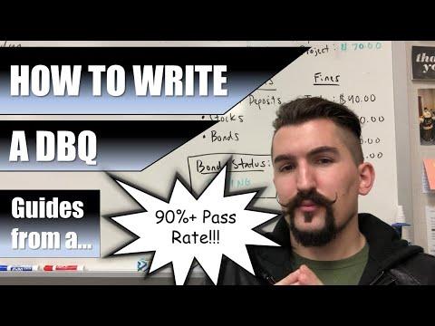 How to Write a DBQ - 2019 - AP World, AP Euro, & APUSH