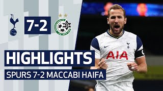 HIGHLIGHTS | SPURS 7-2 MACCABI HAIFA | Harry Kane hat-trick!