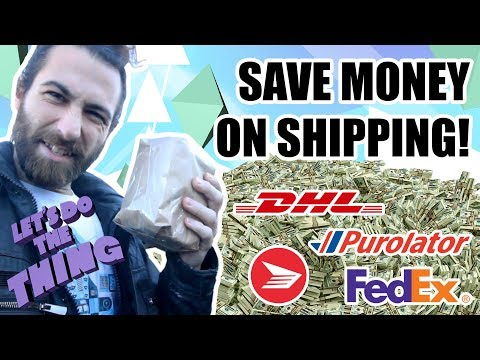 How To Get Cheap Shipping For Small Business - Save Money On Canada Post!