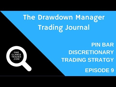The Drawdown Manager Trading Journal e09 - Pin Bar Discretionary Strategy
