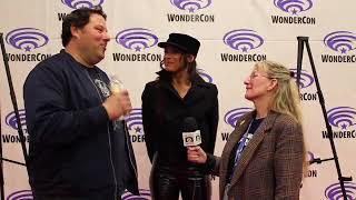 SUICIDE SQUAD: HELL TO PAY Premiere: Greg Grunberg & Dania Ramirez on Maxum Steel & Scandal Savage